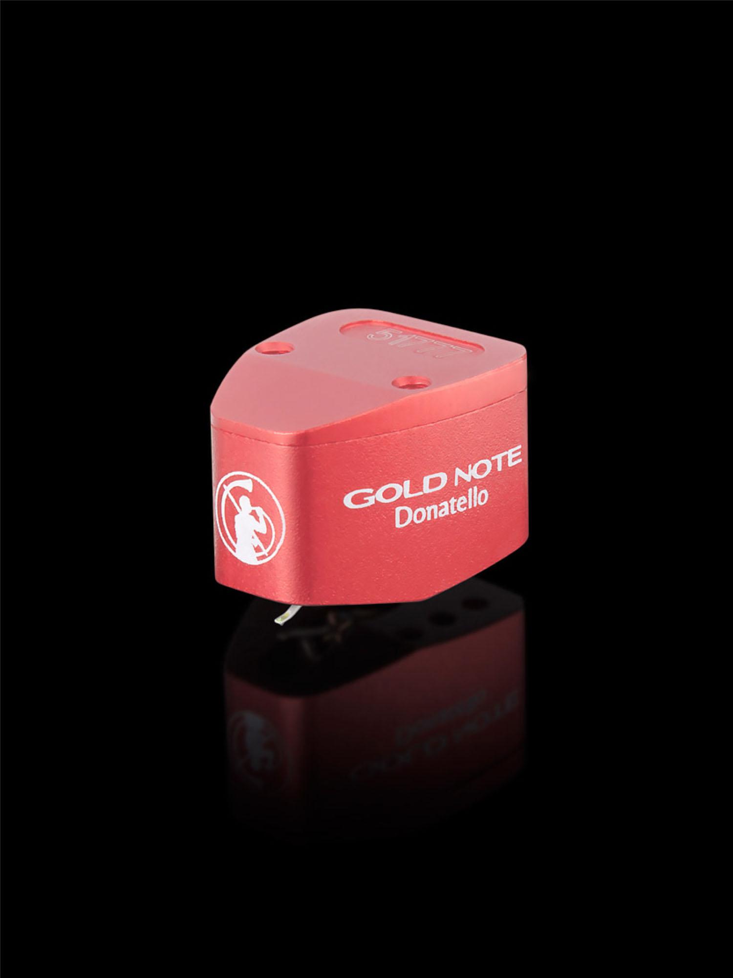 Gold Note Donatello Red Cartridge
