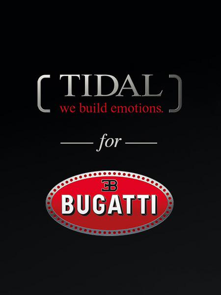 Tidal for Bugatti